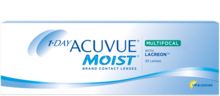 Контактные линзы 1-Day Acuvue® Moist Multifocal - однодневные мультифокальные линзы