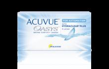 Двухнедельные контактные линзы ACUVUE OASYS® for ASTIGMATISM* с технологией HYDRACLEAR® PLUS**  *Для пациентов с астигматизмом **ПЛЮС