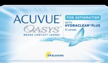 Контактные линзы Acuvue Oasys® for Astigmatism (для астигматизма) с технологией Hydraclear® Plus