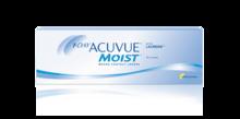 Однодневные контактные линзы 1-DAY ACUVUE® MOIST*  *Увлажненные