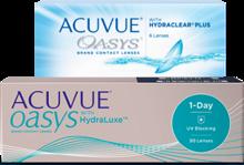 Контактные линзы семейства Acuvue® Oasys®