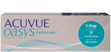 Однодневные контактные линзы Acuvue Oasys® 1-Day с технологией HydraLuxe®