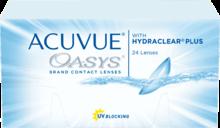 Контактные линзы частой плановой замены Acuvue Oasys® с технологией Hydraclear® Plus
