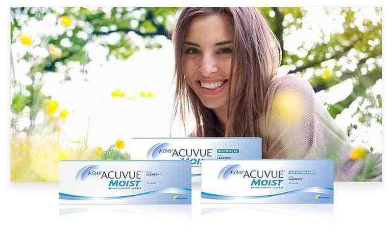 Линзы ACUVUE® для людей с повышенной чувствительностью глаз